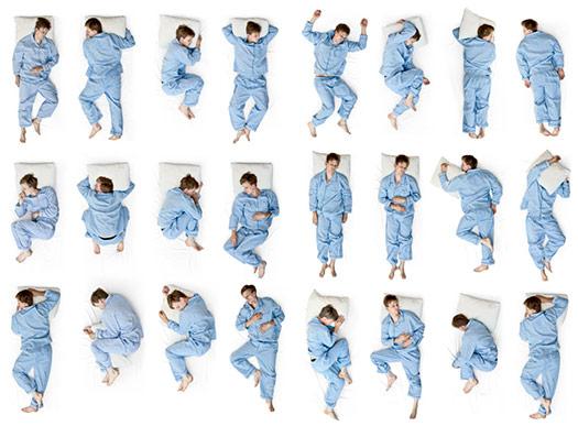 Co o nás říká spánková poloha?