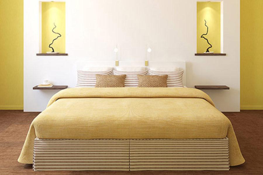 Harmonizujte si ložnici s feng-šuej. Prospějete spánku i partnerskému vztahu.